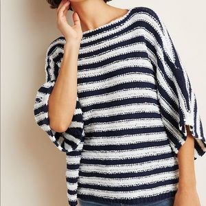 Anthropologie Evie poncho sweater